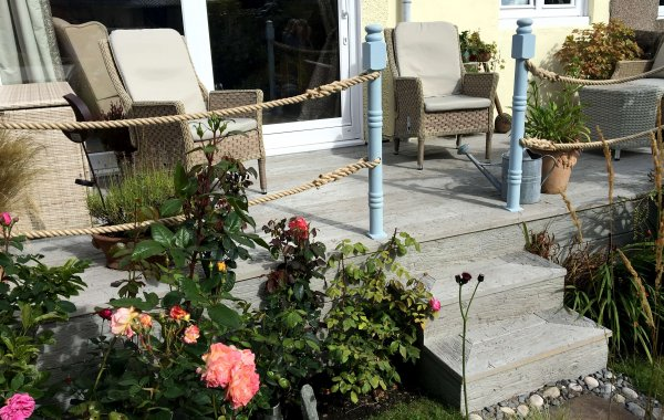 Rustic Composite Decking in Kirkcaldy