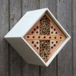 Insect hotel diamond