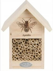 Insect hotel bee