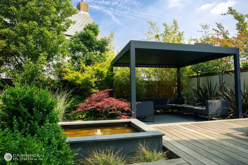 Classic Outdoor Living Pod - Grey - outside