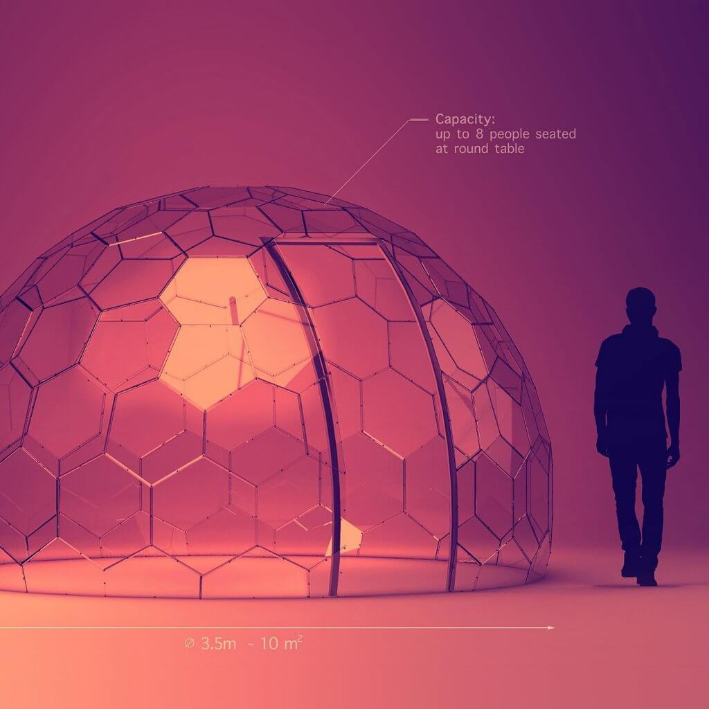 Hyperdome Size Image