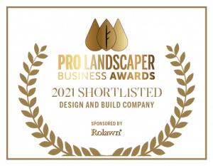 Pro Landscaper Award Nominee 2021 - Design and build company