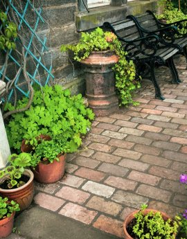 Cottage Garden in Aberdour – Front and Back Garden, and Driveway Renovation, Fife