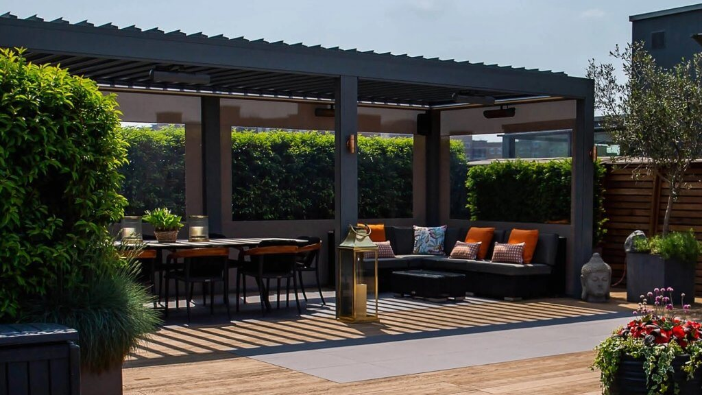 Outdoor living area - landscaping costs