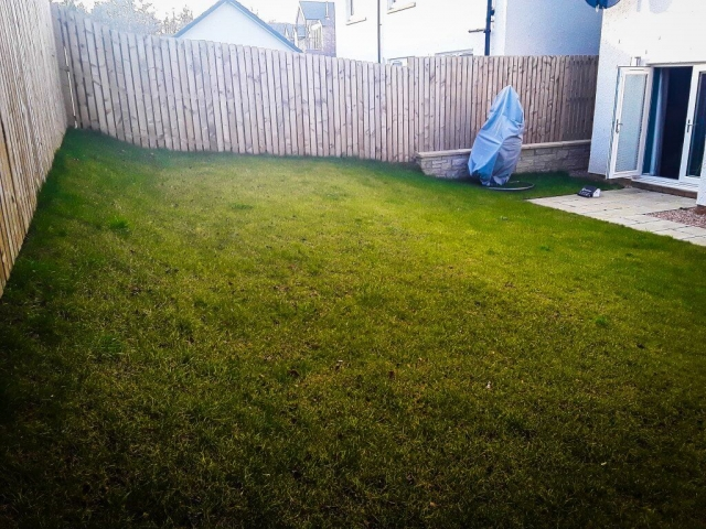 Garden with slope 1